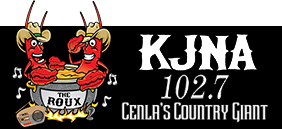KJNA 102.7 CENLA's Country Giant